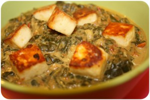 Palak Paneer {fromage indien home made inside}