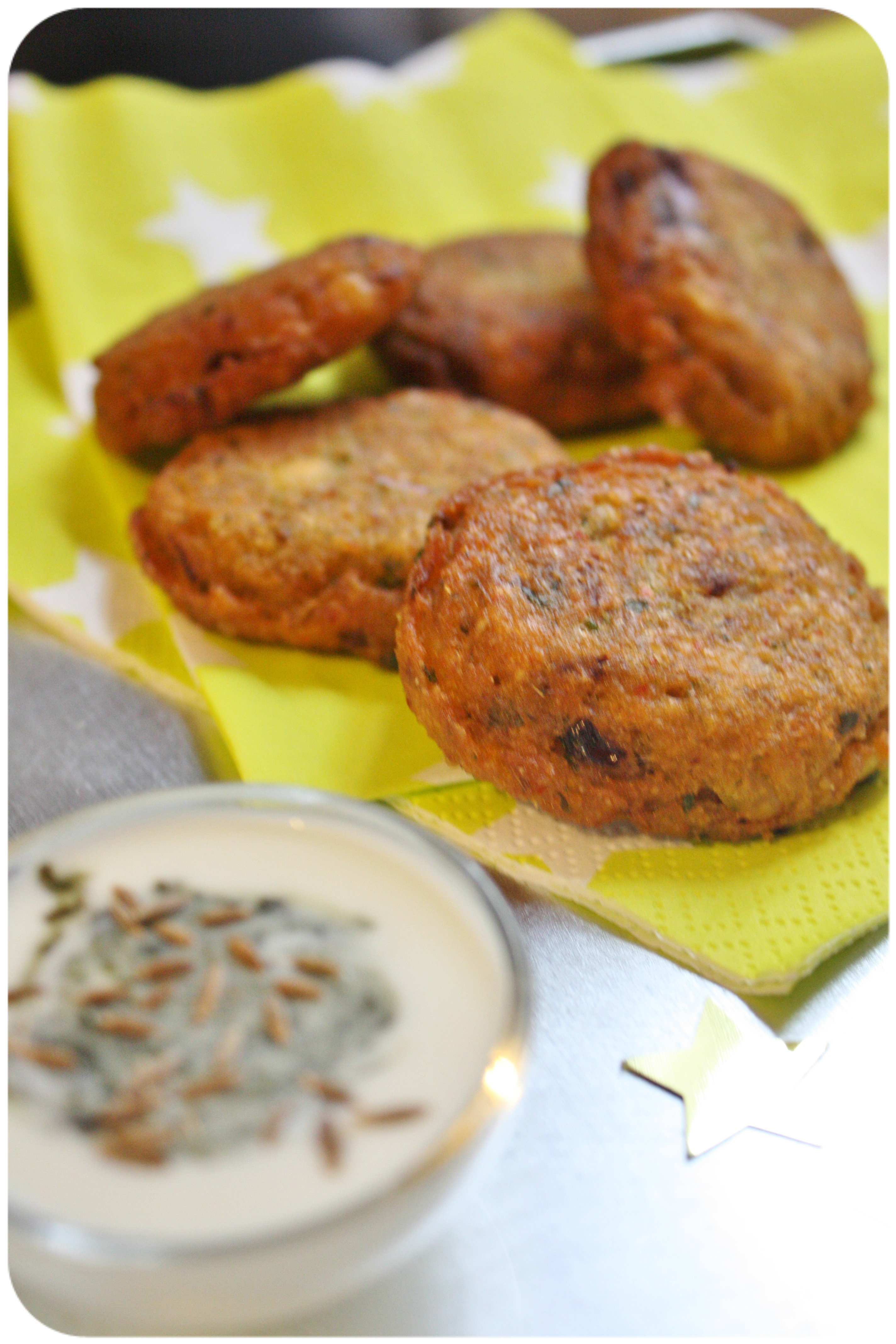 beignets de lentilles corail – le falafel from india {massala