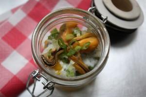Salade de Moules de Bouchot à la mangue ★
