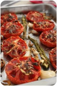 tomates roties au garam massala