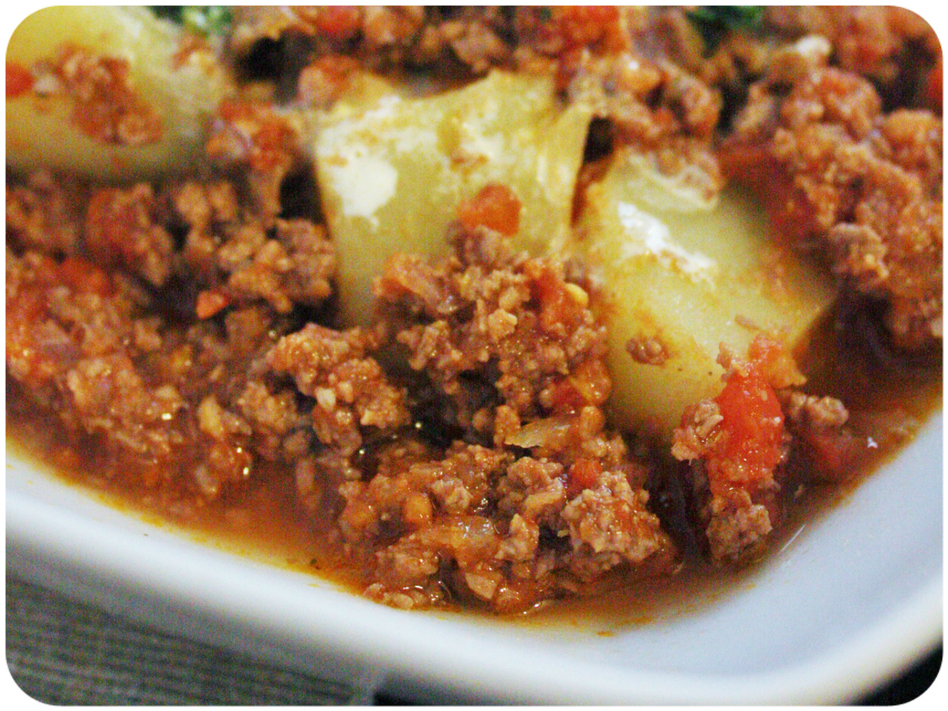 Kheema Aloo {Curry de bœuf et pommes de terre fondantes}