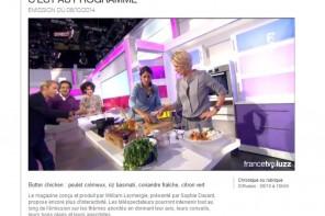 2 recettes, 2 émissions de TV {Passage sur France 2}