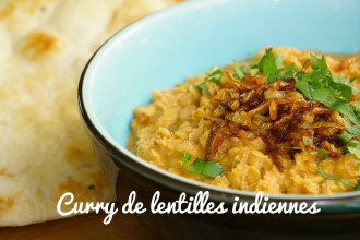 Le Dhal – Curry de lentilles corail {Vidéo Hervécuisine.com}