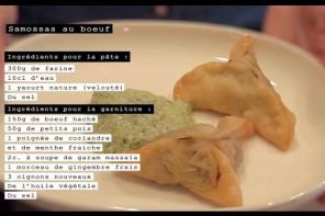 Les samossas végétariens {Vidéos Cook In The Tube}
