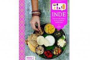 Sortie de mon 1er livre de cuisine : Inde, toutes les bases de la cuisine indienne {Concours inside}