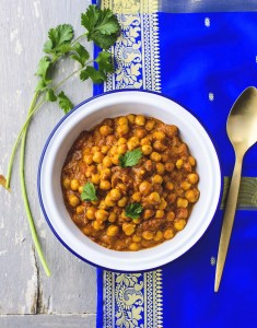 Curry de pois chiches