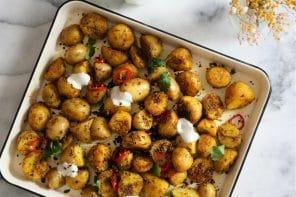 BOMBAY POTATOES {Pommes de terre de primeur à l'indienne}